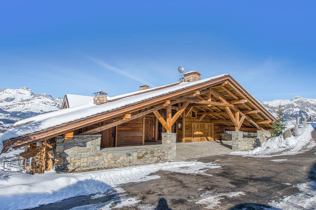 Luxury ski apartments chalets Cindy