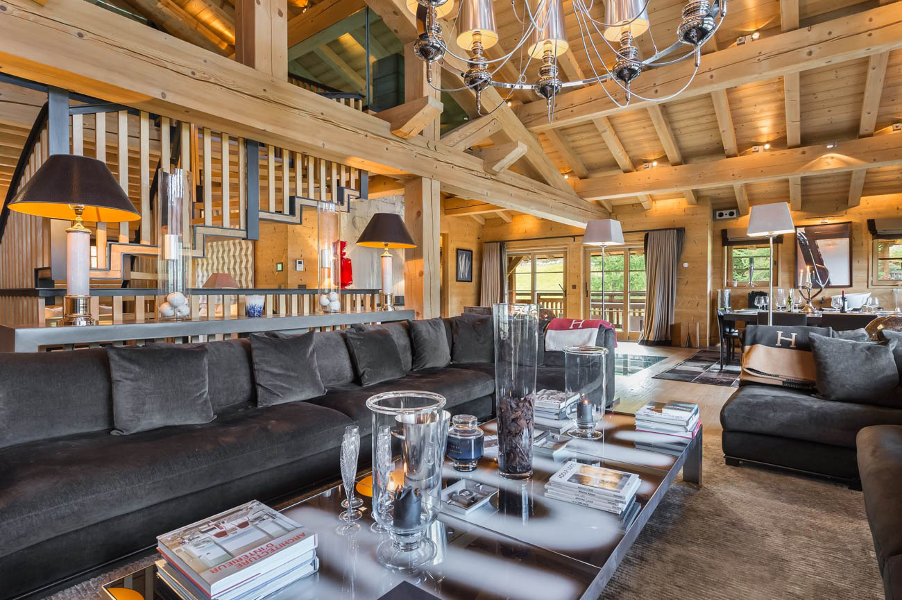 Chalets with services Megeve