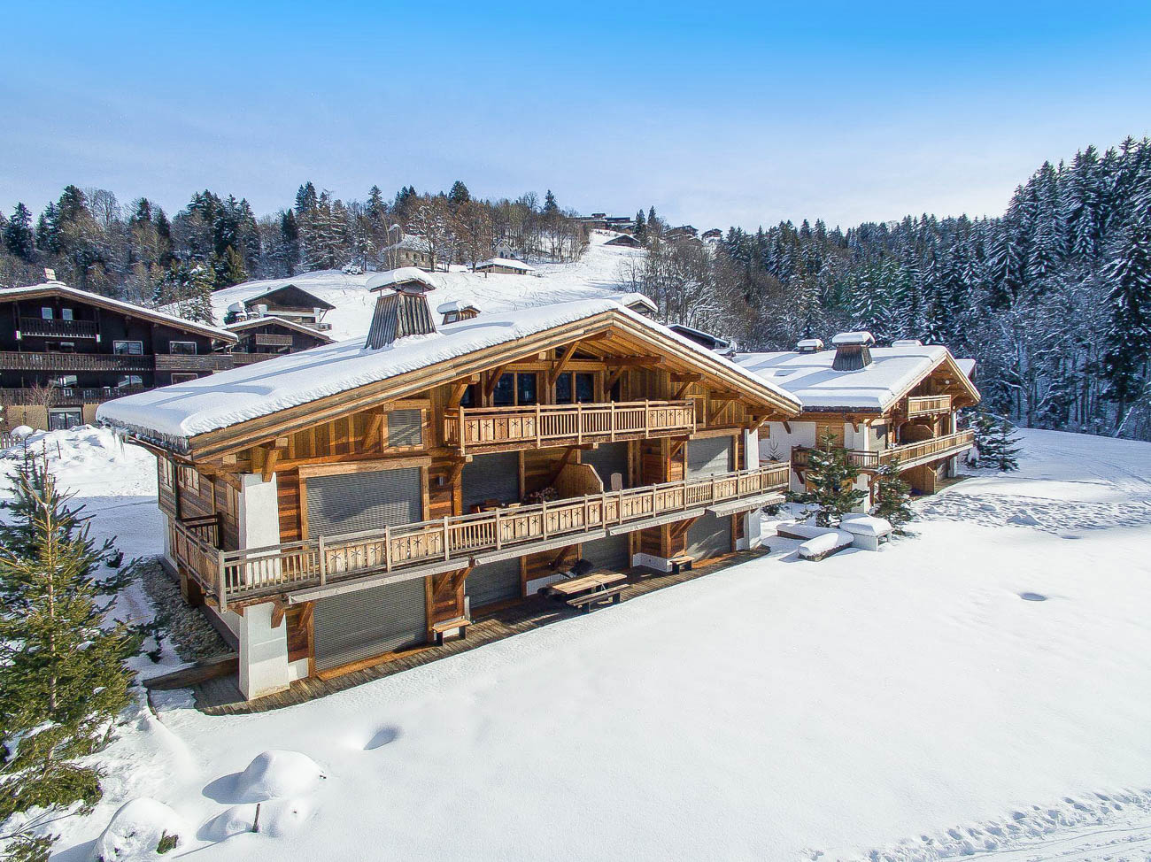 Megève holiday apartments Merill