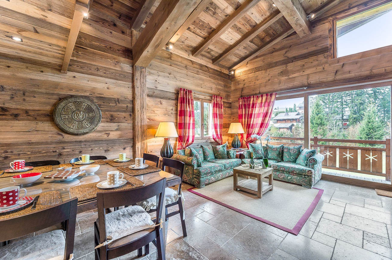 Luxury ski apartments chalets Megeve
