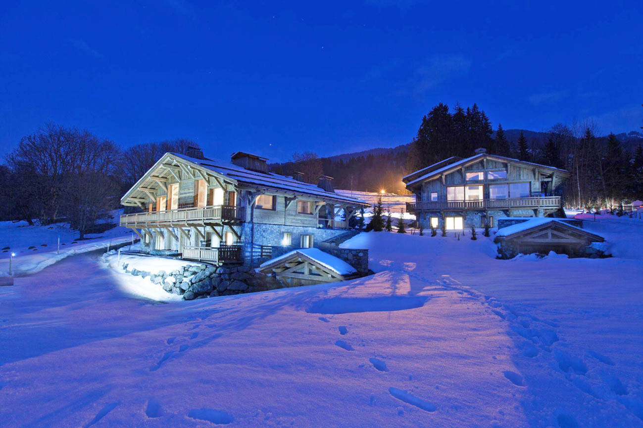 Catered chalets in Megeve Megeve