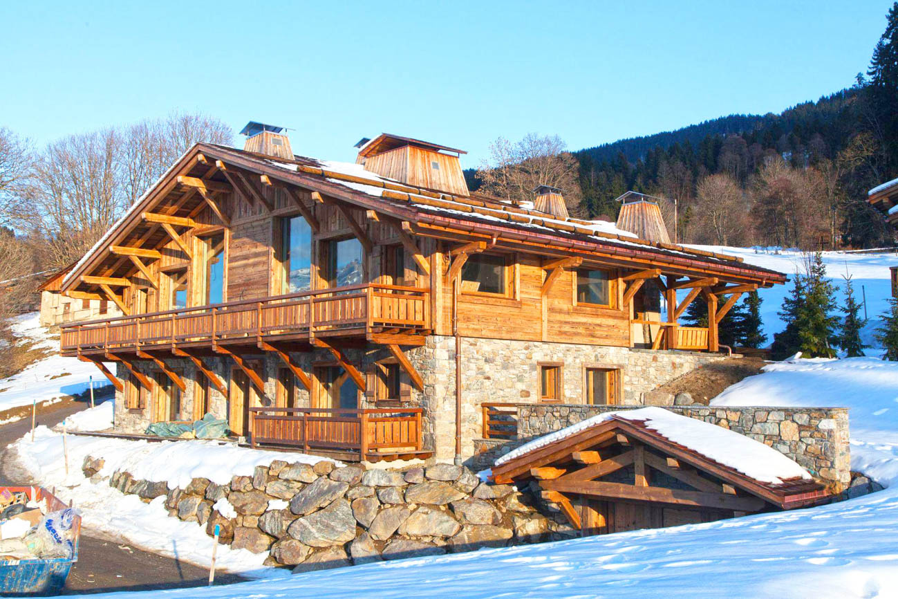 Catered luxury ski chalet Megeve Nala