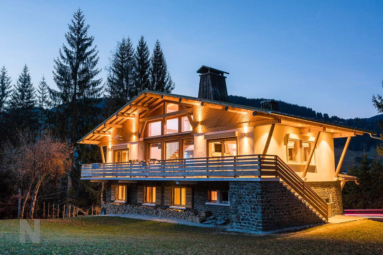 Megeve luxury catered chalets Nindy