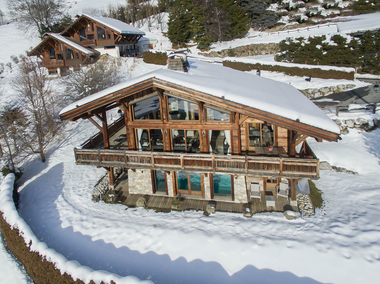 Megeve luxury catered chalets Stanley